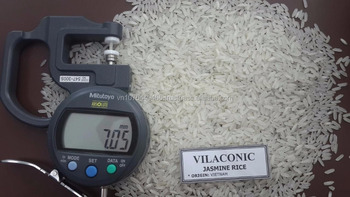 Vietnam Jasmine Rice/long grain white rice/ medium/japonica