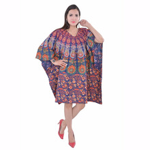 New Design 2016 Dress For Girls/ Ladies New design Caftan mandala dress