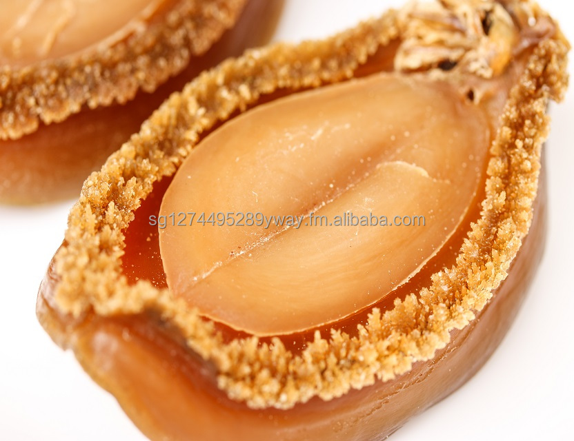 Dry Japanese Abalone Premium High Quality - estimated size 6x4.5x1.5cm