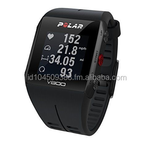 Sports with Heart Rate Monitor, Black