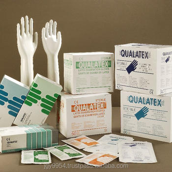 Sterile Pre-Powdered Latex Surgical Gloves 10.0g Medical