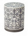 Horn & Bone inlay side table