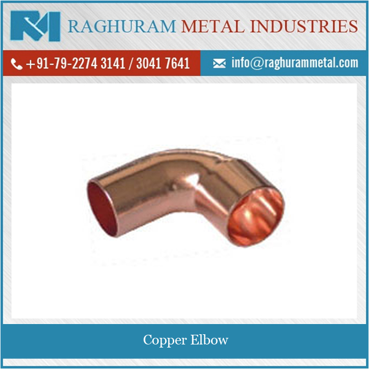 2017 Top Grade Easy to Install/ Maintain Copper Elbow with Excellent Service Life