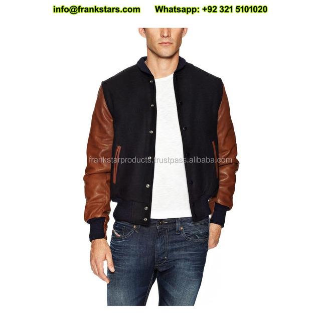 Wholesale custom Fashion Poly Camouflage Bomber Jacket men Varsity