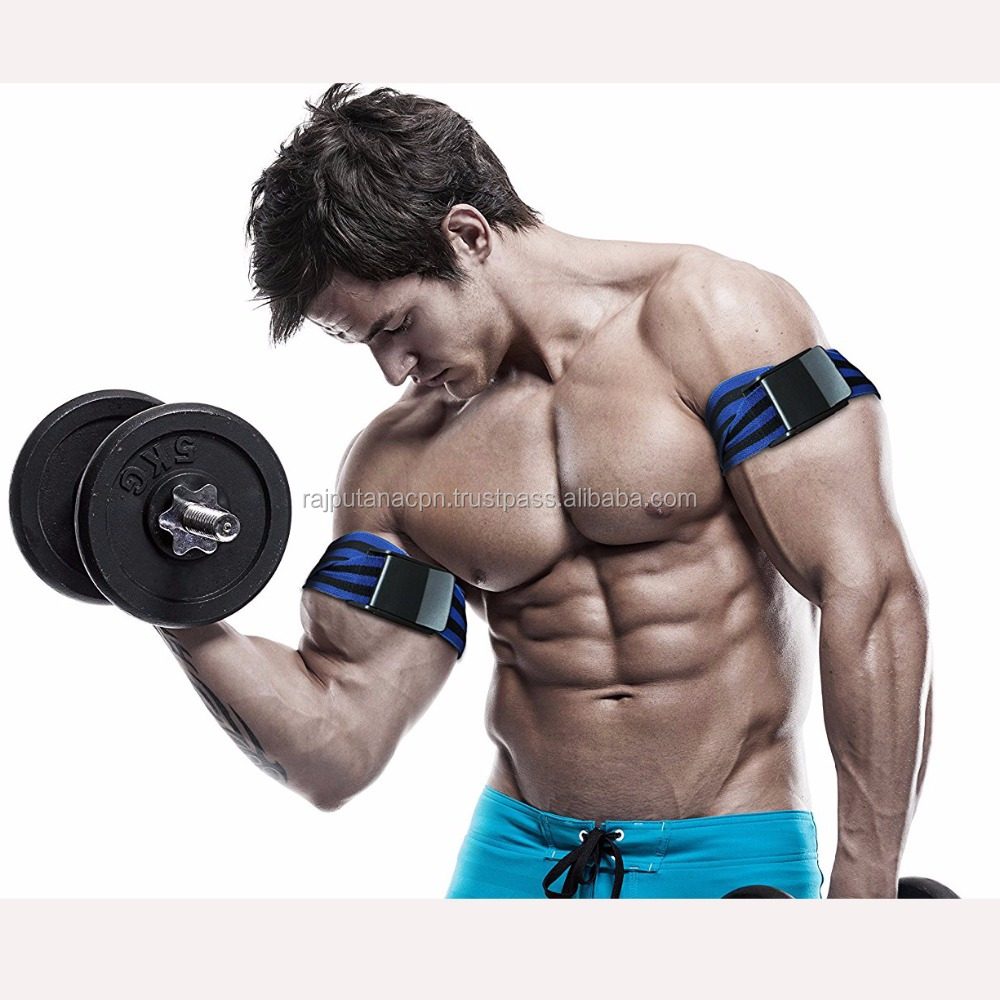 Muscle Gain Occlusion Training Blood Flow restriction bands with easy release Buckle RCAh-01