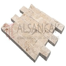 Best Price Natural Stone 5x10 cm Noce Travertine Marble Tiles