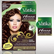 herbal natural coverage Dark brown hair colour-no side effect
