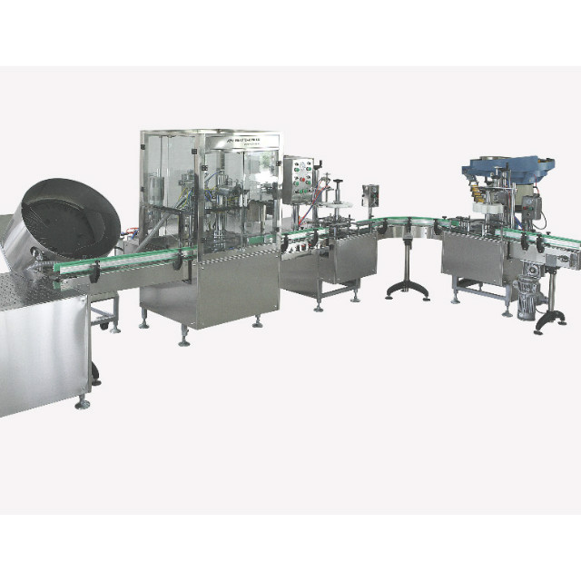 Fully Automatic Compact Aerosol Filling Machine