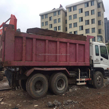 Used Isuzu Forward Dump truck 25T Capacity hot sale in shanghai