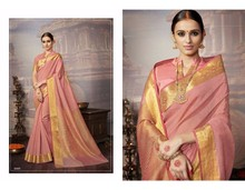 India Ethnic Designer Khadi Silk Sari Bollywood Party Wear Stylist Saree