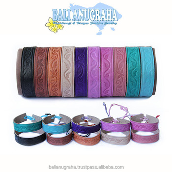 Wholesale Painted Leather Bracelet