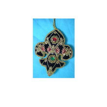 Hand Embroidery Christmas Hanging Decoration Ornament