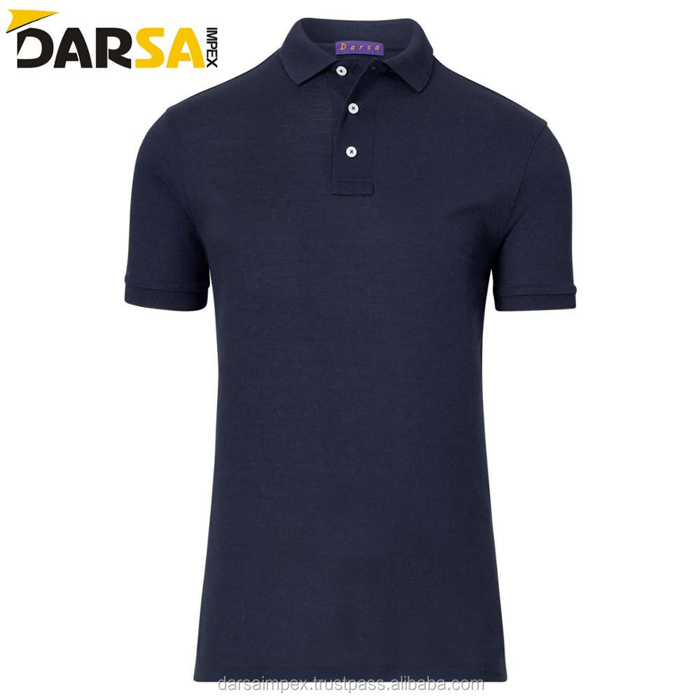custom plain polo shirts for young age / polo shirts for men 100% cotton