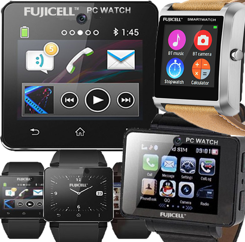 FUJICELL SMARTWATCHES & SMART WIRSTBANDS FOR FITNESS