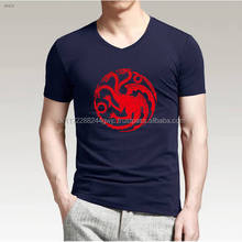 High Quality Bulk Blank Men 100% Polyester V-neck T-shirt Wholesale/OEM Custom polyester printed t shirt cheap price
