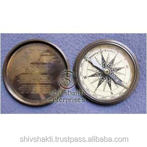 Stanley London Compass, Nautical Brass Stanley London Compass