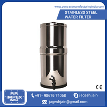 Low Maintenance Easy to Use Stainless Steel Industrial Water Purified Filter