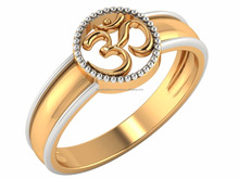 Omkar Gold Rings Fine Lovers For Daily Wear