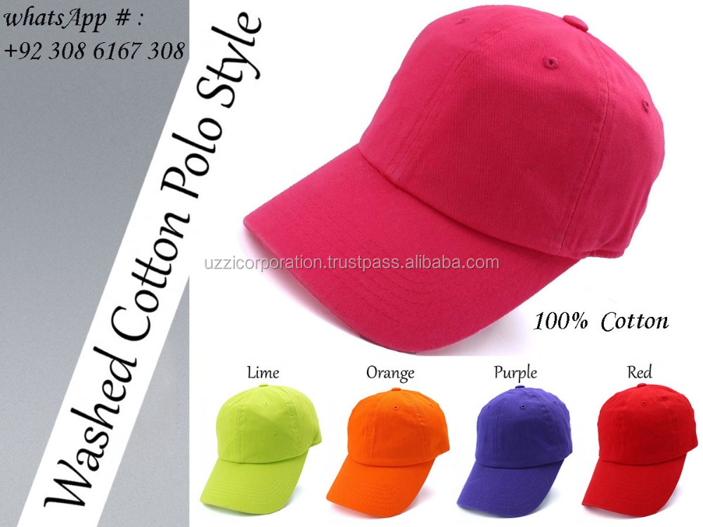 Fashion plain golf outdoor men women polo style black baseball cap