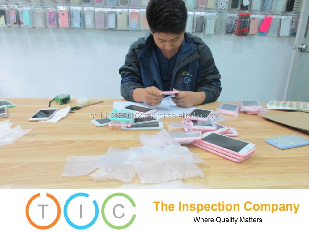 Cellphone Accessories in China for Pre Shipment Inspection