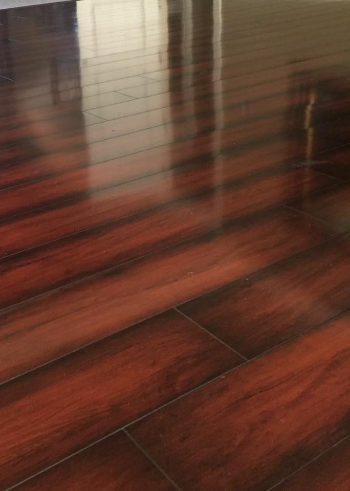 Beautiful Cherry Plank Laminate Flooring