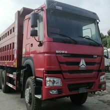 HOWO tipper truck used HOWO dump truck prices