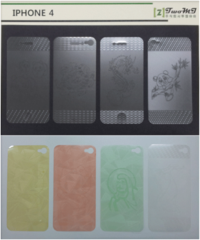 UV Pattern Accessory, Screen protectors, Mobile phone accessory, Phone accessory, Cell phone accessory