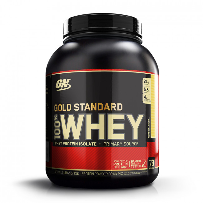 100% Whey Protein Gold Standard Sports Nutrition