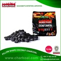 Standard Coconut Charcoal for BBQ Available in Bulk