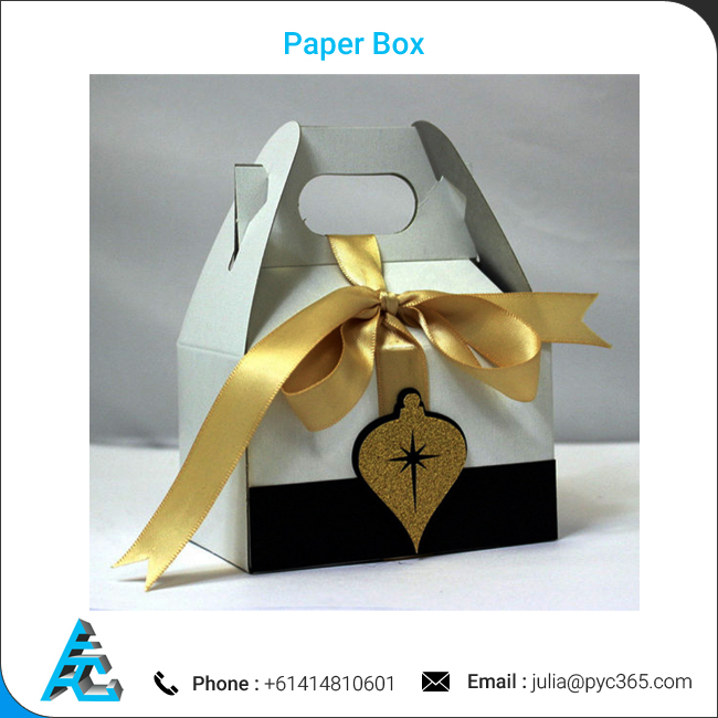 Christmas Ornament Gift Gable Box Paper Box