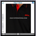 Black and Red Color mens Polo T shirts for sale