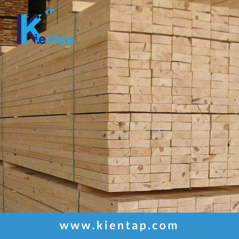 Pine Eucalyptus Acacia sawn timber - dried timber - low price high quality from Kientap JSC Vietnam