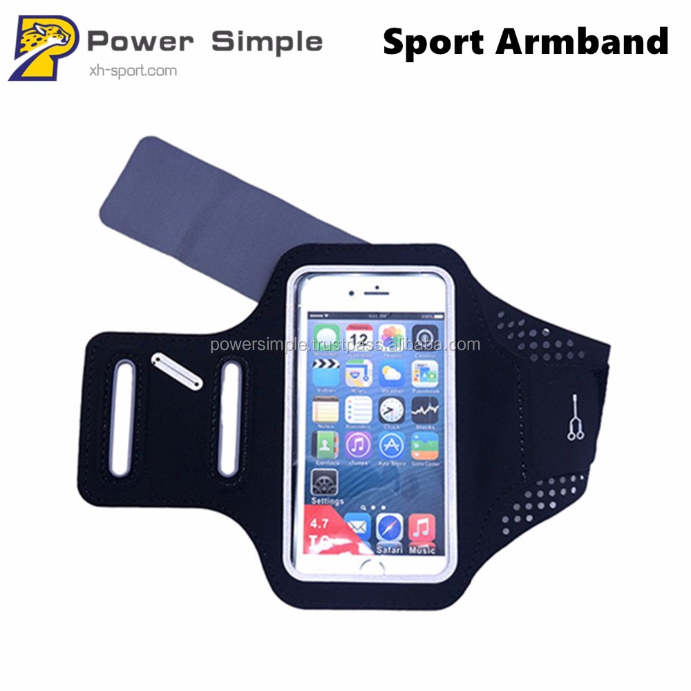 Lycra Outdoor Sport Touch Screen Waterproof Mobile Phone Cover Armband