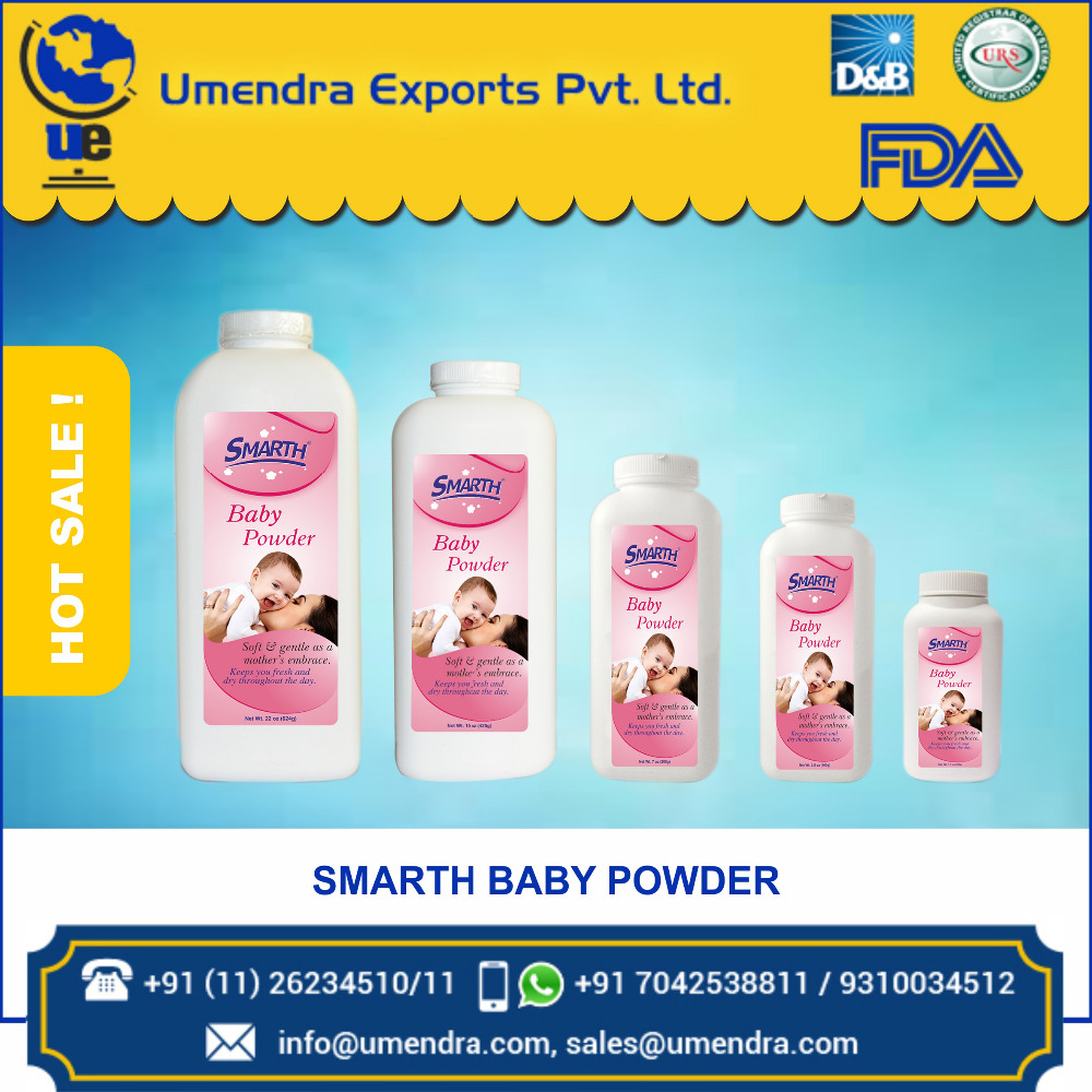 Wholesale Manufacture Baby Talcum Powder at Best Market rate