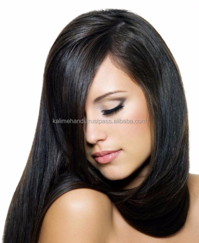 Фото волосы черного цвета