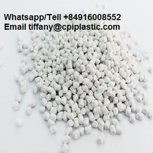 CACO3 Filler Masterbatch PP resin granules for plastic bag/ woven bag/blowing film - Plastic filler masterbatch materials