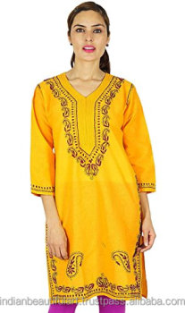 Embroidered Long Women Kurti