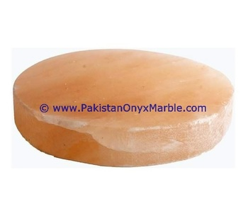 High Quality Kitchen Used himalayan pink salt cooking tiles Round