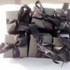 Black gift box for copper scent candle packaging box