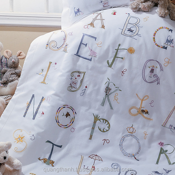 embroidery baby Crib Bedding