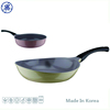 Wholesale Market Non-Stick Magic Ceramic Coating Colored Frying Pans in Korea