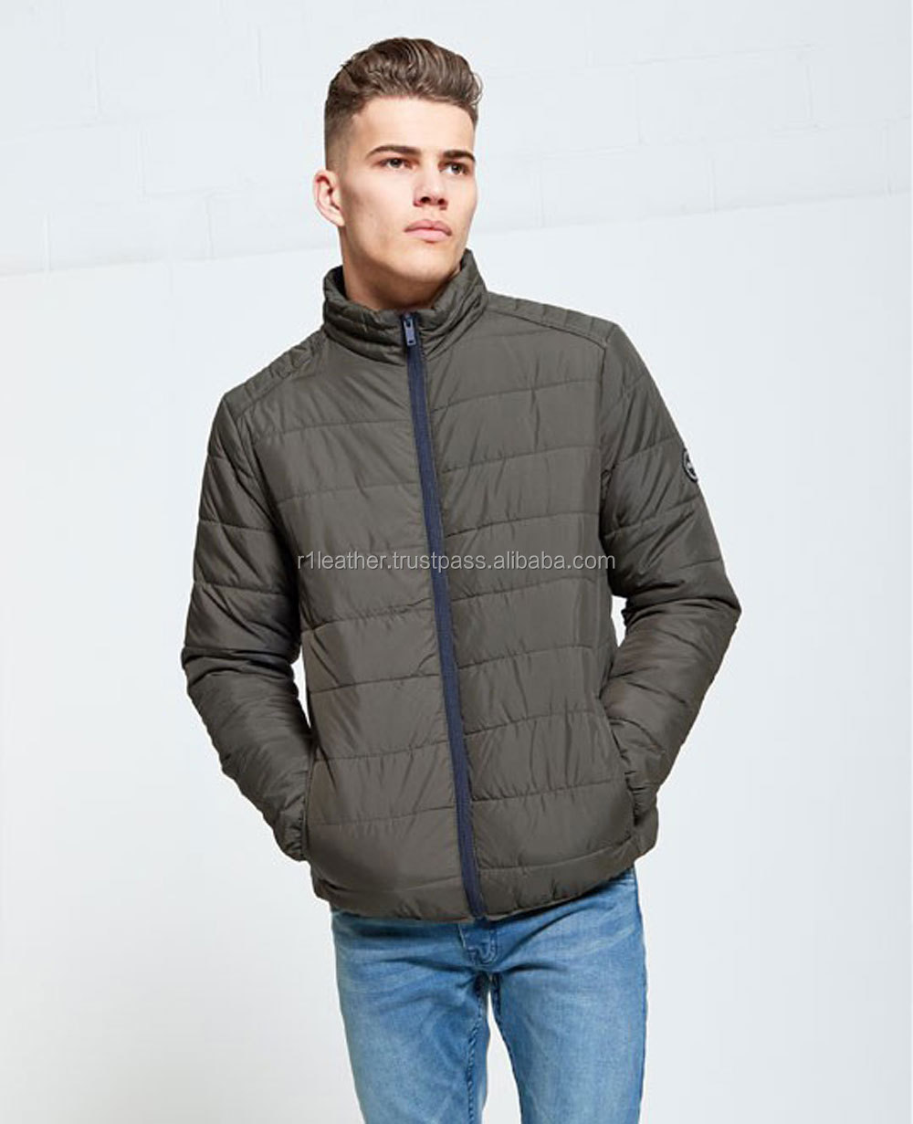 Pakistani Factory price custom outwear winter clothes for men, padding working puffer winter jacket man