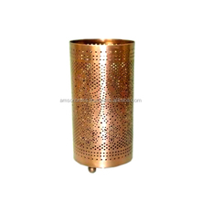 Copper Finished Candle Lighting votive candle Holder