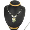 Hot Selling Multi Stone Necklace 925 Sterling Silver Jewelry Wholesaler Silver Jewelry India