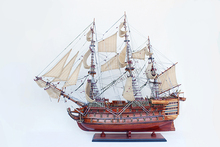 HMS Victory wooden model 1/100 scale ship model from Vietnam for decoration