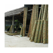 Wholesale straight bamboo poles/building construction material