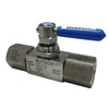 "High Quality 2 Way Ball Valve, 6000 psi, SS 316, 1/2"" female, for Oil, Water, Gas, equivalent to Swagelok, Parker, Autoclave"