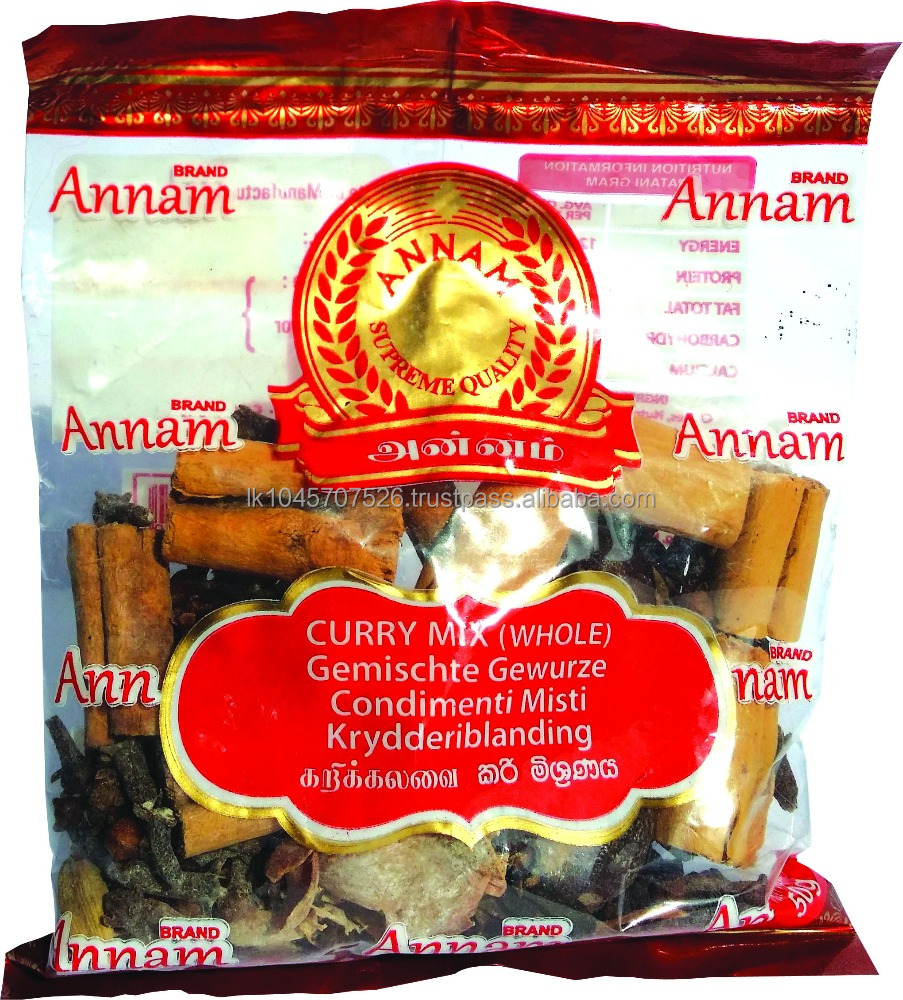 Sri Lanka High Quality Low Price Vegetarian Food Seasoning Curry Mix