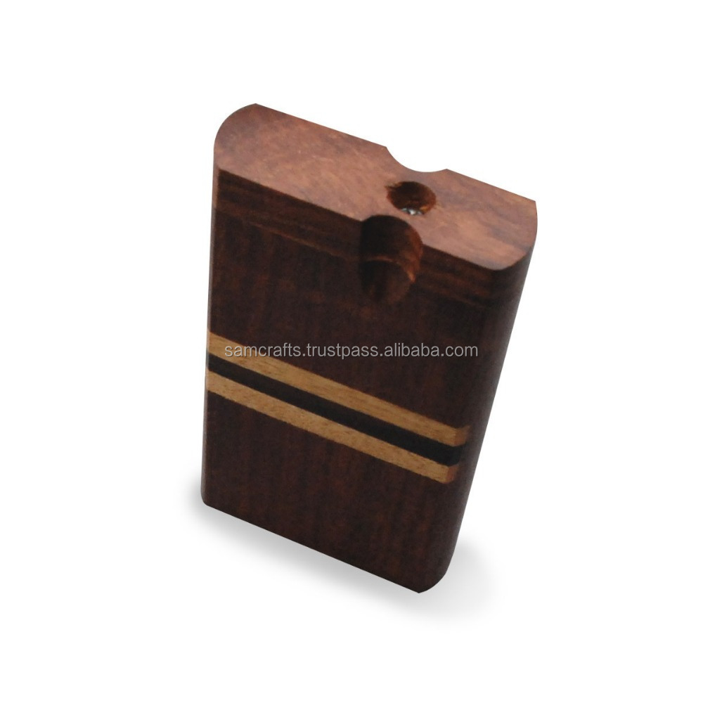 Handmade Wooden Cigarette Dugout Smoking 4 Inches