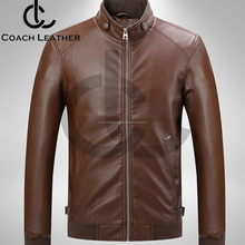 Custom design Winter Slim Fit Sheep Leather Jacket